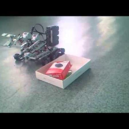 Гимназия№74 Робот- манипулятор Лего