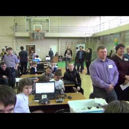 IV Олимпиада по робототехнике, г.Барнаул 2014