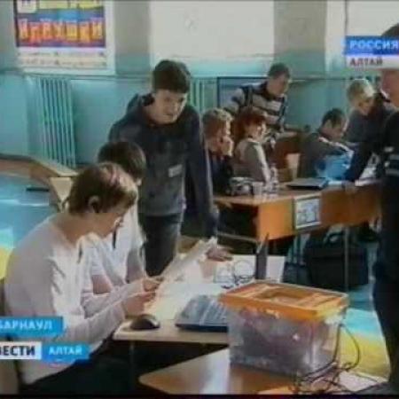 II Краевая олимпиада по робототехнике (Алтайский край)